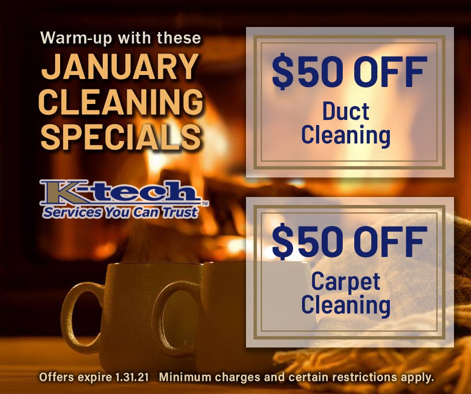 January 2021 Cleaning Specials