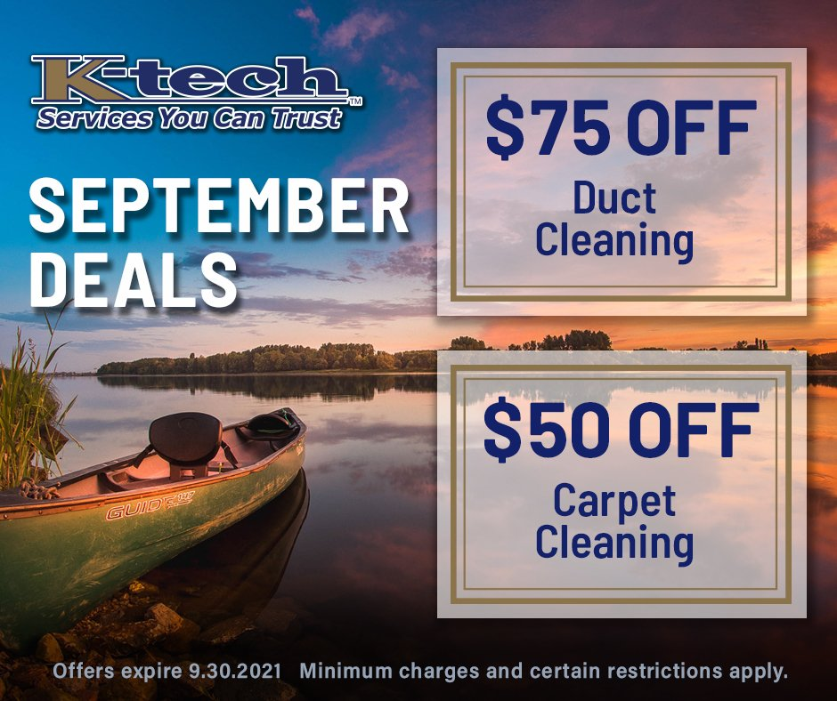 September 2021 K-tech Cleaning Specials